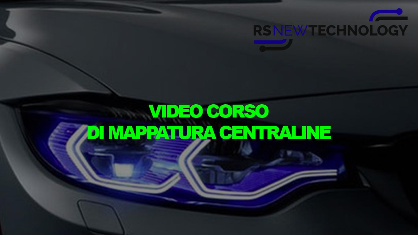 Video Corso di Mappatura Centraline cover